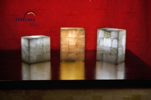 Sobremesas rectangulares de Onix en varios tamaños - Solicite información sobre la medida que desee. Iluminación bajo consumo incluida.
