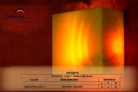 Listado de tamaños disponibles - Solicite información si necesita otra medida. Iluminación bajo consumo incluida.