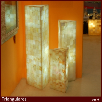 Columnas triangulares
